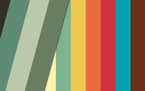 Разноцветные полосы