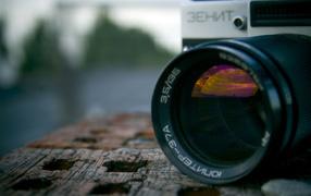 Russian camera Zenit