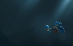 Монстры под водой