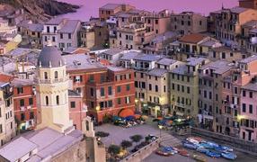 The Italian city by the sea