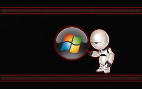 Робот с Windows 7