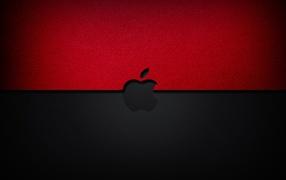 Черно красное Apple