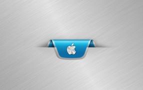 Серебристый Apple