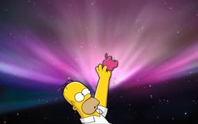 Apple и Симпсон