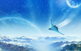 Dreamy jet world