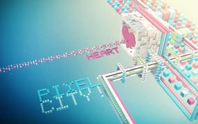 Город из кубиков