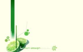 Дизайн лимона