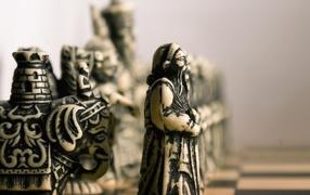 Китайские шахматные фигуры