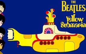 Картина Энди Уорхола Желтая подводная лодка