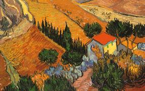 Картина Винсента Ван Гога - Пейзаж