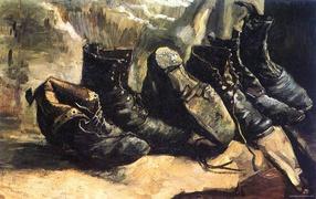 Картина Винсента Ван Гога - Старые туфли