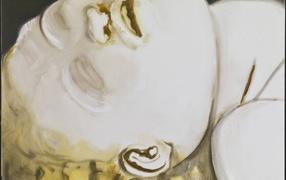 Картина Марлен Дюма - ребенок