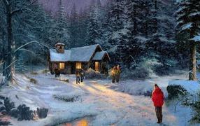 Картина Кинкейд Рождество