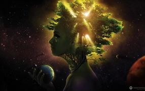 Земля в руке у природы