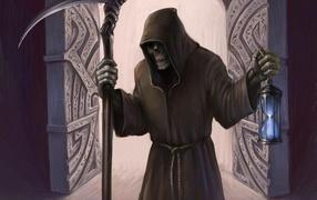 Смерть с песочными часами