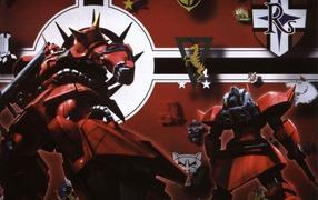 Логотипы и роботы воины