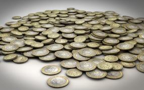 Горка монет