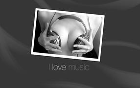 Фото Я люблю музыку