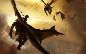 Воины на драконах