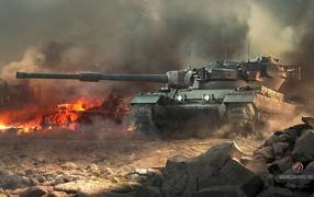 Британский танк в мире танков