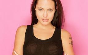 Movie star Angelina Jolie