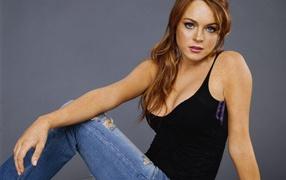 Actress Lindsay Lohan