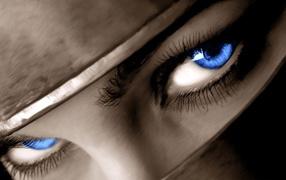 Взгляд синих глаз
