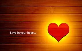 Любовь в нашем сердце