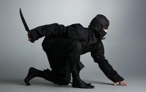 Ninjas in black suit