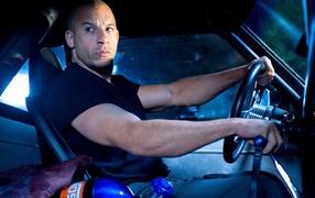 Famous movie Actor Vin Diesel