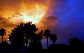 Светящиеся облака