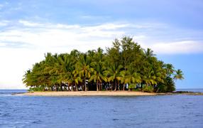 Остров из песка