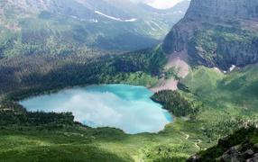 Национальный парк Глейсир