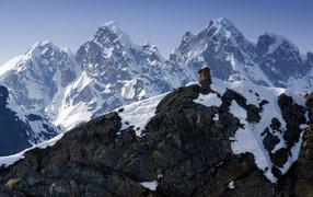 Дом на вершине горы