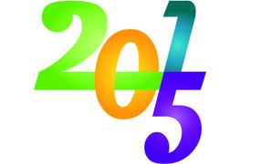 Переплетение цифр 2015