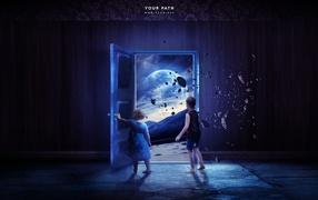 Открытые двери в космос