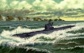 Подводная лодка 613 серия