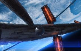 Большая космическая станция