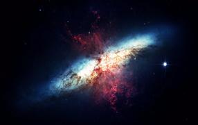 Звездная туманность в космосе