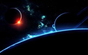 Светлая полоса планеты