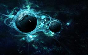 Энергия вокруг планет