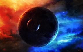 Планета с луной