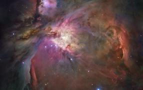 Туманность в созвездии Ориона