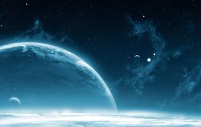 Планета с атмосферой