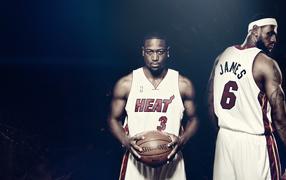 Два баскетболиста