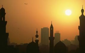Минареты во Каире