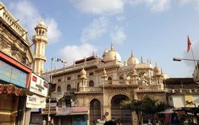 Мечеть Джама-Масджид на Мумбай