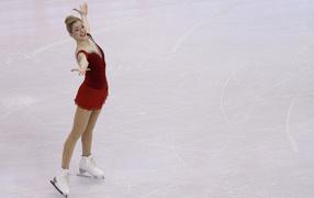 American figure skater Gracie Gold bronze medal winner
