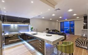 Дизайн квартиры с кухней