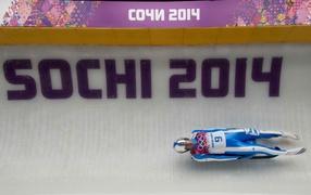 Armin Tsoggeler Italian luger bronze medalist in Sochi